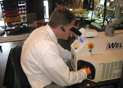 Eyeglass Frame Repair Welding : Goldsmiths of Medford Jewelry - Your Medford and Southern ...